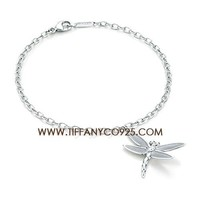 Shopping Cheap Elsa Peretti Dragonfly Charm Bracelet in Sterling Silver At Tiffanyco925.com - Discount Tiffany Bracelets