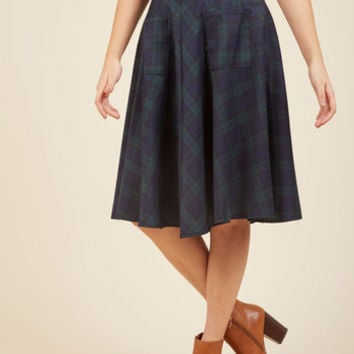 Teachin' to the Choir Midi Skirt | Mod Retro Vintage Skirts | ModCloth.com