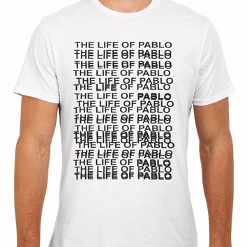 The Life Of Pablo Kanye Men Women Vest  Top Unisex T Shirt 2034 New T Shirts Funny Tops Tee New Unisex Funny Tops