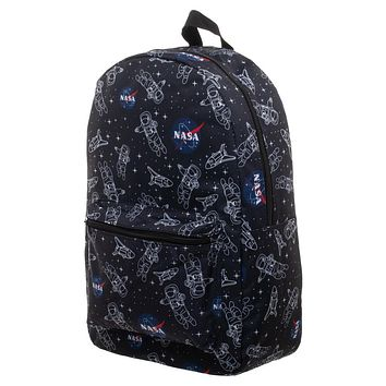 Nasa Backpack Sublimation Astronaut Bag - Great Astronaut Gift or NASA gift - NASA Bag