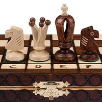 Royal 30 European Wood International Chess Set