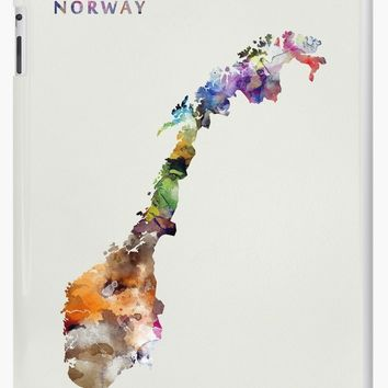 'Norway' iPad Case/Skin by MonnPrint