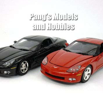 Chevrolet Corvette C6 (2005) 1/24 Diecast Metal Model by MotorMax