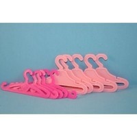 12 Pack of Doll Clothing Hangers Made to Fit the Barbie Doll