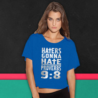 Haters Gonna Hate (2) boxy tee