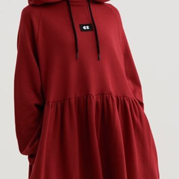 Lazy Oaf Watching You Hoodie Dress