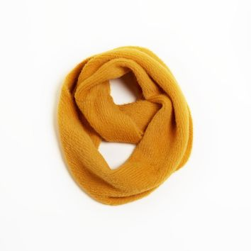 Angora Blended Infinity Scarf