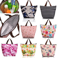 2016 Hot New Summer Lunch Bag Insulated Thermal Cooler Box Carry Tote Storage Travel Picnic Bag High Quality Free Shipping N562