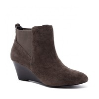 Sole Society Addison Suede Wedge Bootie
