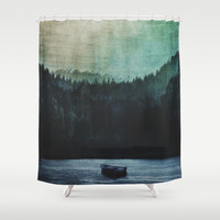 Great mystical wilderness Shower Curtain by HappyMelvin