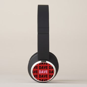 Dave's (Photo Template) Headphones