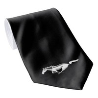 Ford Mustang on Black Neck Tie