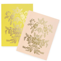 Rorschach Everyday Notebook Sets | Set of two with gold accents | RIFLE PAPER Co. | Made in USA