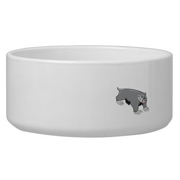 Badger Pouncing Cartoon Bowl
