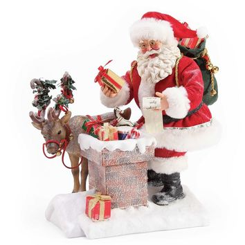 Dept. 56 Christmas Traditions XMSPD Rooftop Magic - 6003843