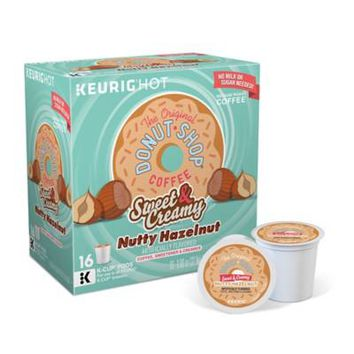 Keurig® K-Cup® 16-Count Original Donut Shop® Sweet & Creamy Hazelnut Medium Coffee