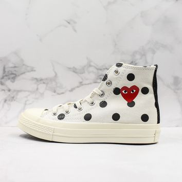 CDG Play x Converse All Star Chuck Taylor 1970s Hi-Top Sneakers - Best Deal Online