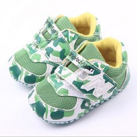 Camouflage Baby Soft Bottom Shoes