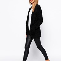 New Look Teddy Cardigan at asos.com