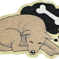 Dreaming Dog Welcome Mat