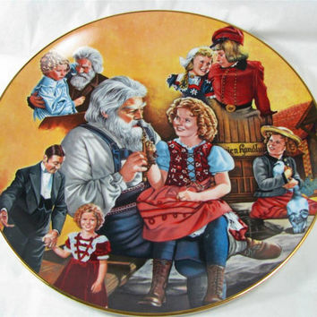 Vintage 1984 Collector Plate Shirley Temple Classics HEIDI