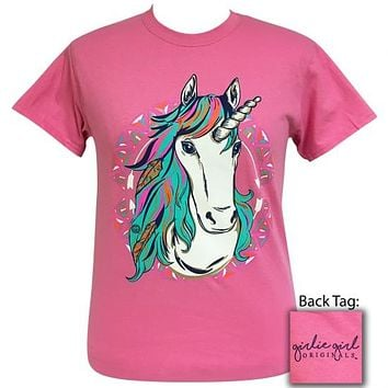 Girlie Girl Originals Preppy Gypsy Unicorn T-Shirt