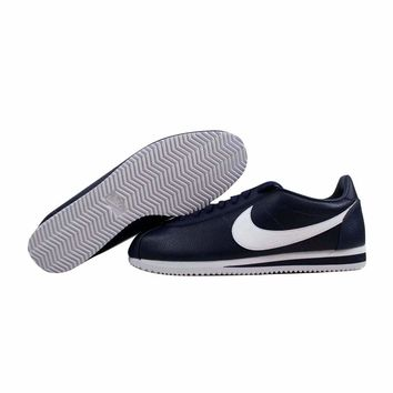 Nike Classic Cortez Leather Midnight Navy/White 749571-414