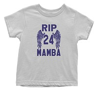 Black Mamba Rest In Peace Toddler T-Shirt
