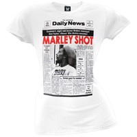 Bob Marley - Shot Juniors T-Shirt