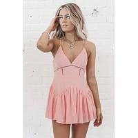 Day Party Pink Romper