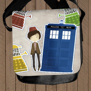 Doctor Who and the Daleks - shoulder bag