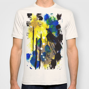 Abstract Painting T-shirt by Yuval Ozery