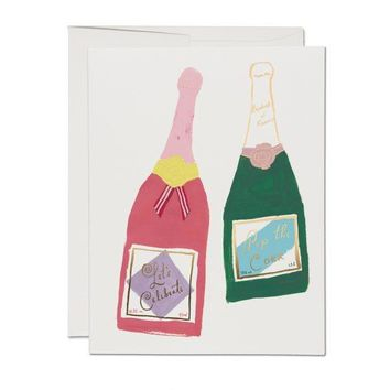 RED CAP CARDS CHAMPAGNE CARD