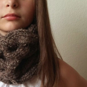 Chunky Braided / Cabled Cowl - Snood