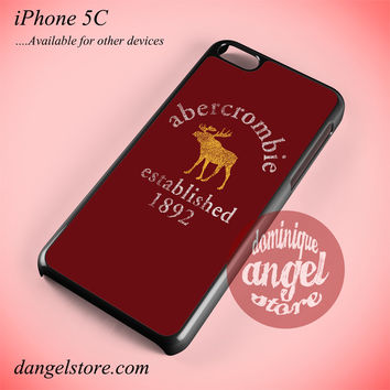Abercrombie Moose Phone case for iPhone 5C and another iPhone devices