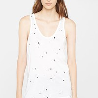rag & bone/JEAN Paint Splatter Tank
