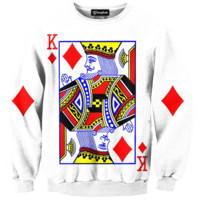 King of Diamonds Crewneck