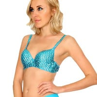 Mermaid Scales Bra Top