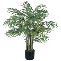 SheilaShrubs.com: 3' Areca Silk Palm Tree 5000 by Nearly Natural : Outdoor Garden Decor Silk Trees & Plants