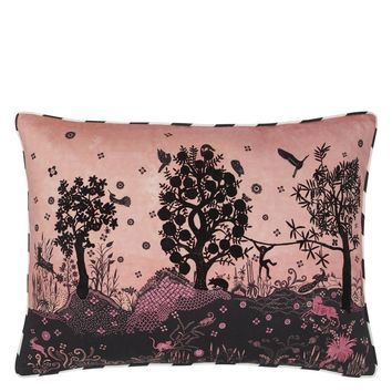 Christian Lacroix Bois Paradis Bourgeon Decorative Pillow