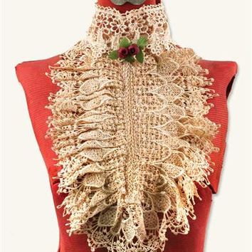 VENETIAN LACE COLLAR (ANTIQUE)