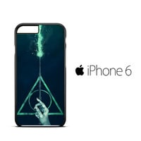 Harry Potter Deathly Hallows Expecto Patronum iPhone 6 Case