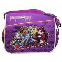 Monster High Purple Messenger Bag