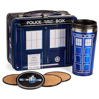 Doctor Who Special Edition Lunch Box with Coasters & Thermos