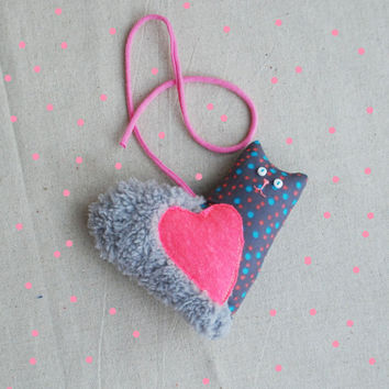 Valentine Cat Heart , Valentine's Day Gift, Heart, Home Decor, Valentines Gift for Lovers, Gift for Her, Gift for him, Valentines Day Decor