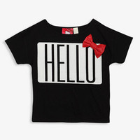 Hello Kitty Bow Tee (Kids)