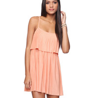 Pleated Tiers Dress
