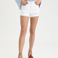 AE Mom Short, Bright White