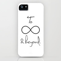 To Infinity and Beyond White iPhone Case by RexLambo | Society6