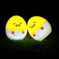 Gudetama Egg Light-Up  Lazy Egg Yolk  Table Lamp